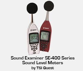 TSI Quest Sound Examiner sound level meter calibration and repair
