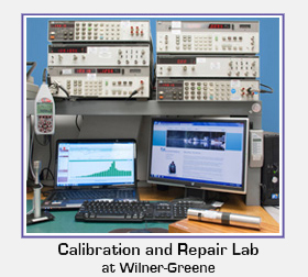 Wilner-Greene's calibration and repair lab